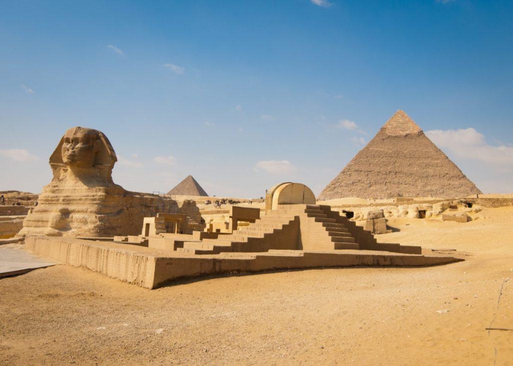 Pyramids of Giza mastabas