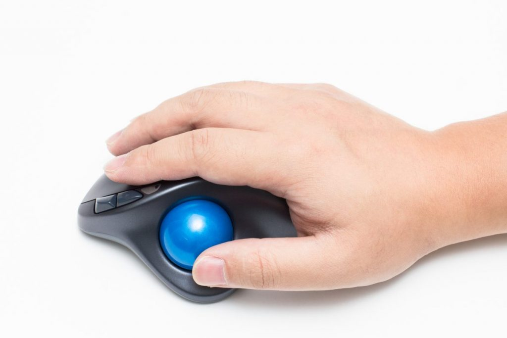 mouse trackball pointer device choice