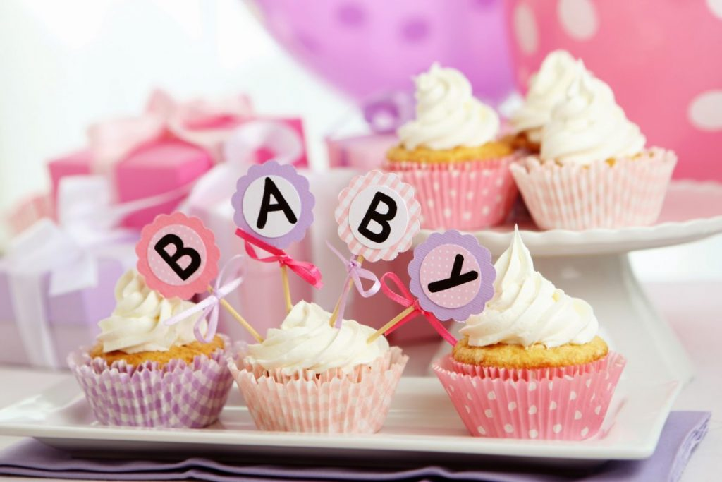 food and drinks baby showers