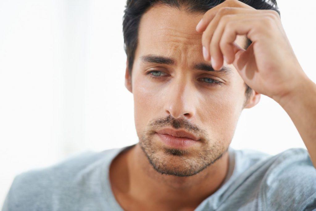 melancholy self-talk fear apprehension