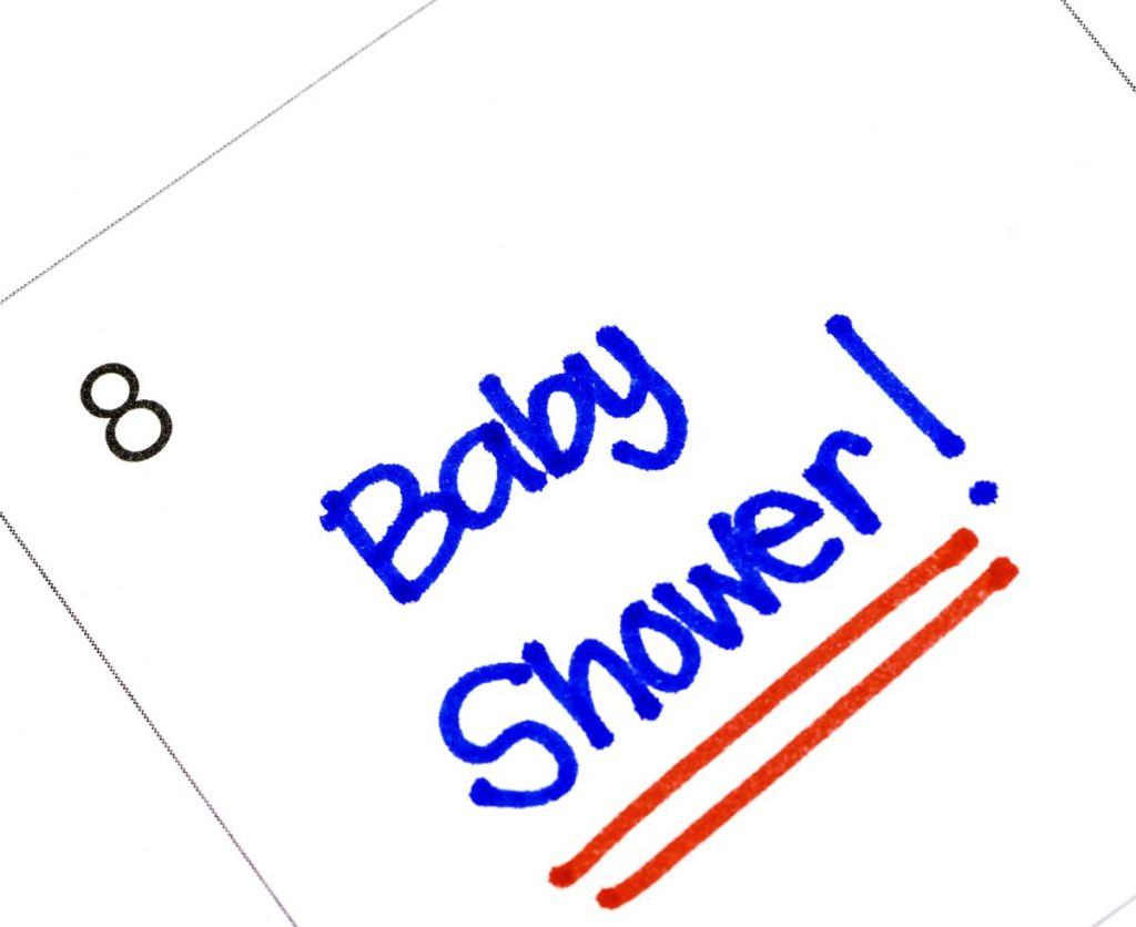 baby showers time and date