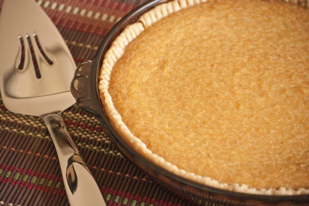baked sweet potato pie