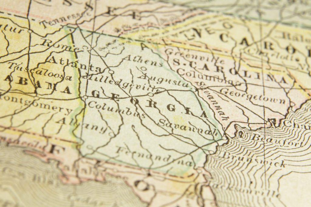 georgia map albany
