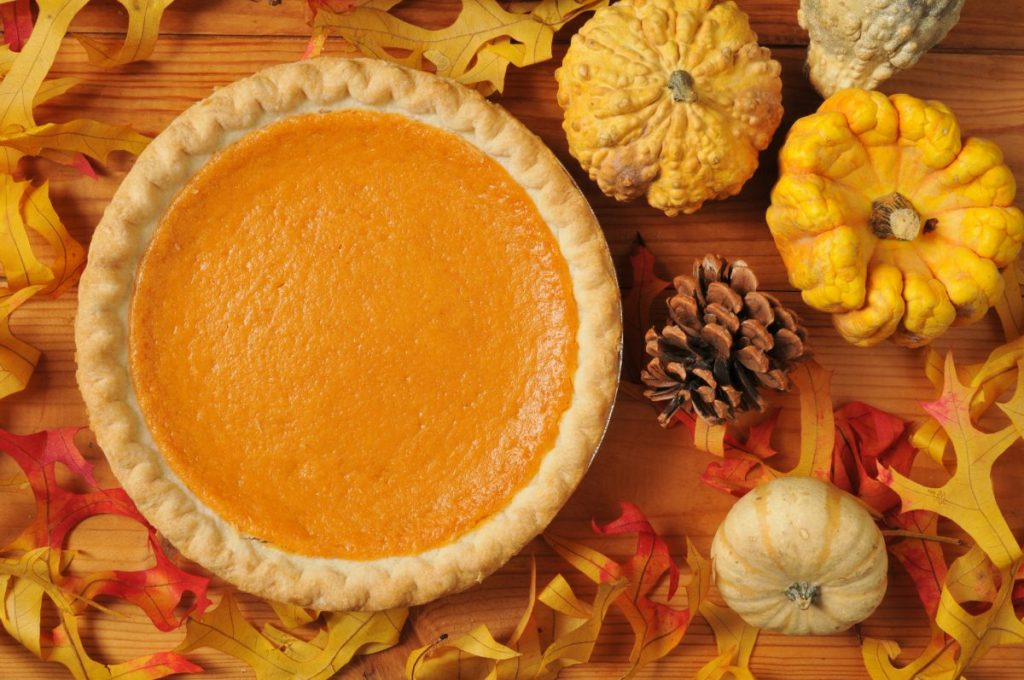 thanksgiving southern sweet potato pie