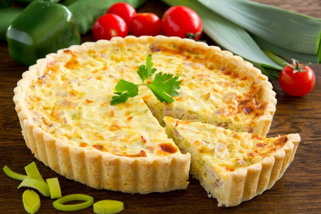 quiche lorraine bacon swiss cheese