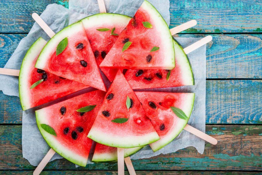 Eating a Watermelon