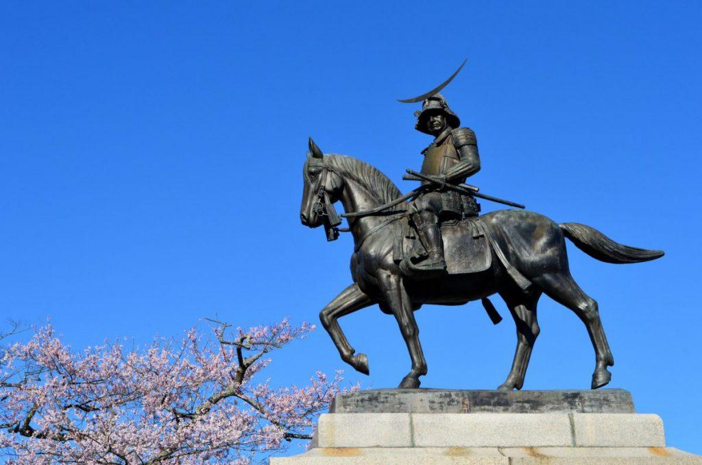 masamune date equestrian statue sendai