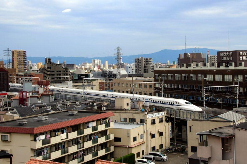 shinkansen bullet train osaka sendai