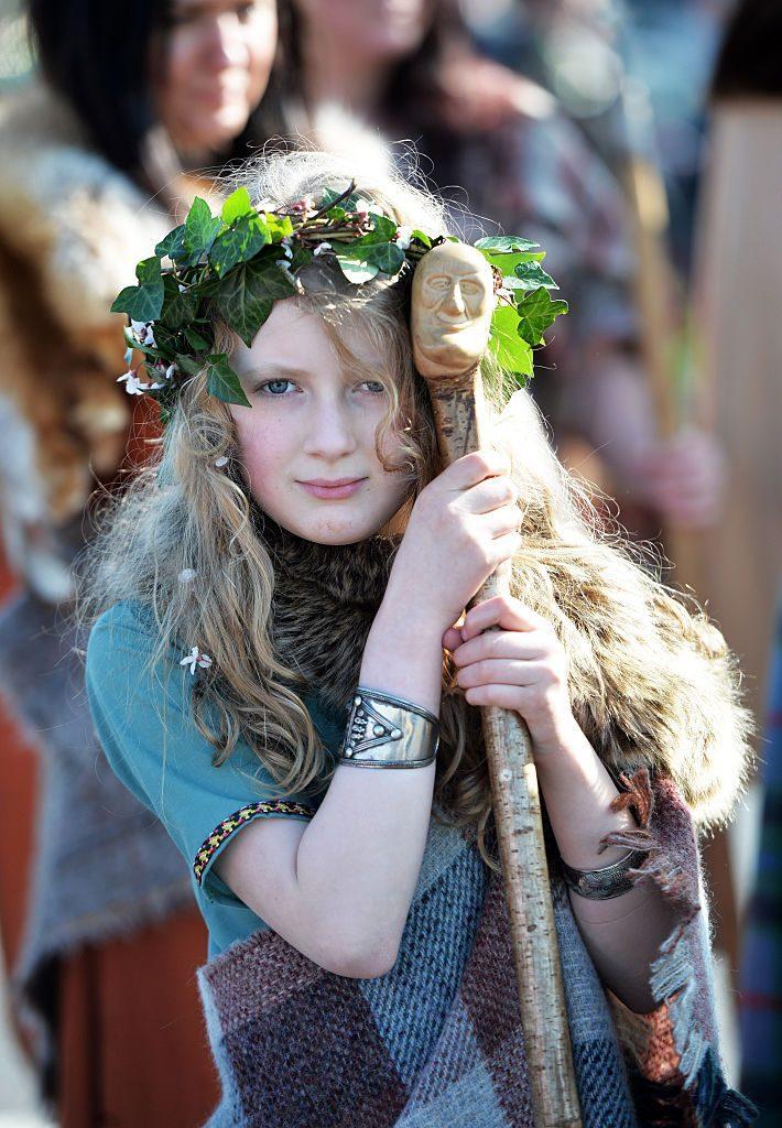 irish girl gaelic