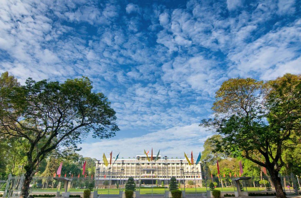 reunification palace gate