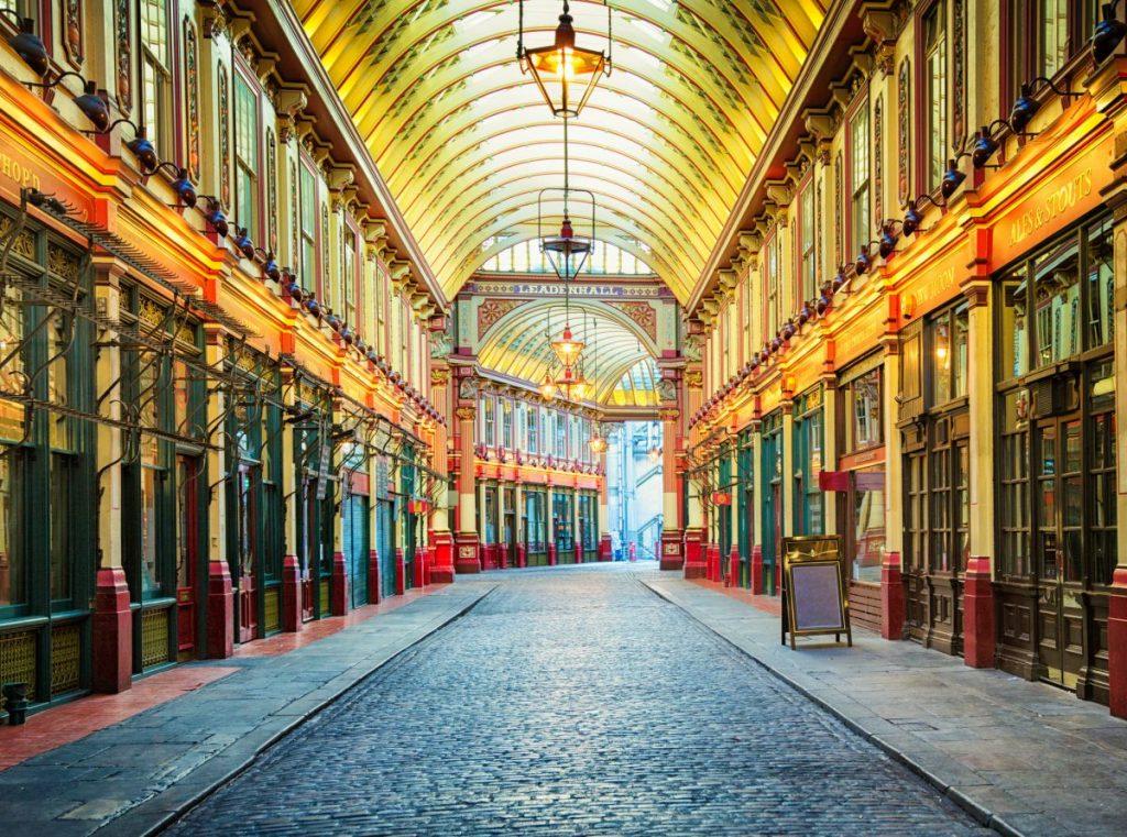 london market street arcade
