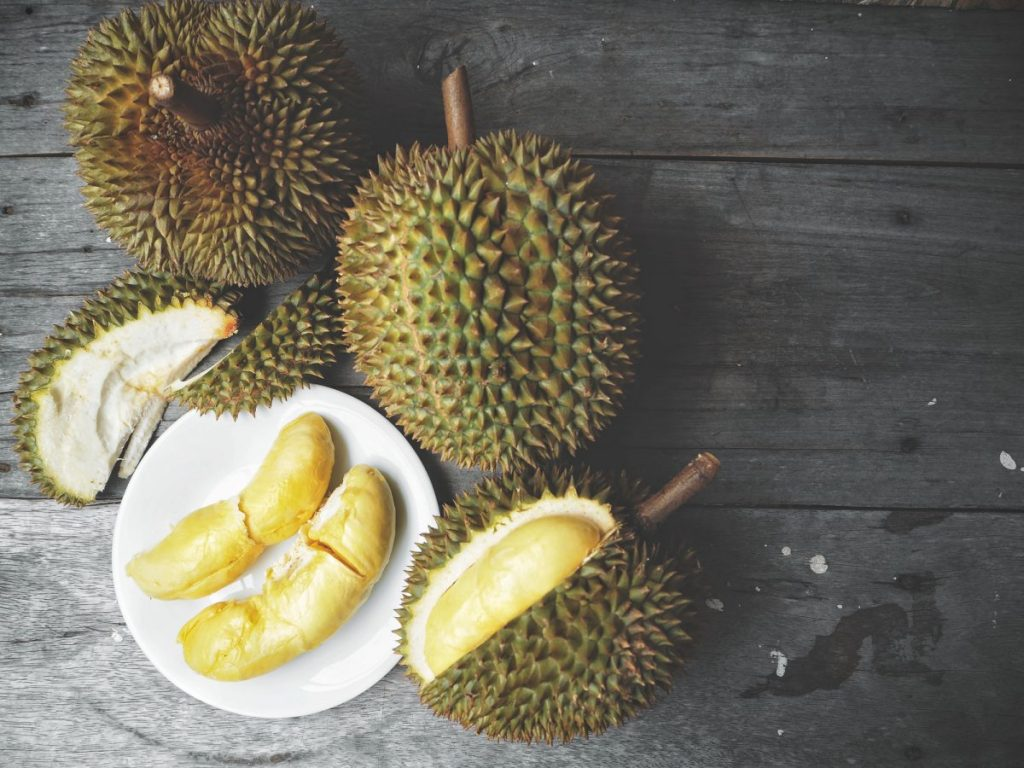 Durian fruit smell Thailand