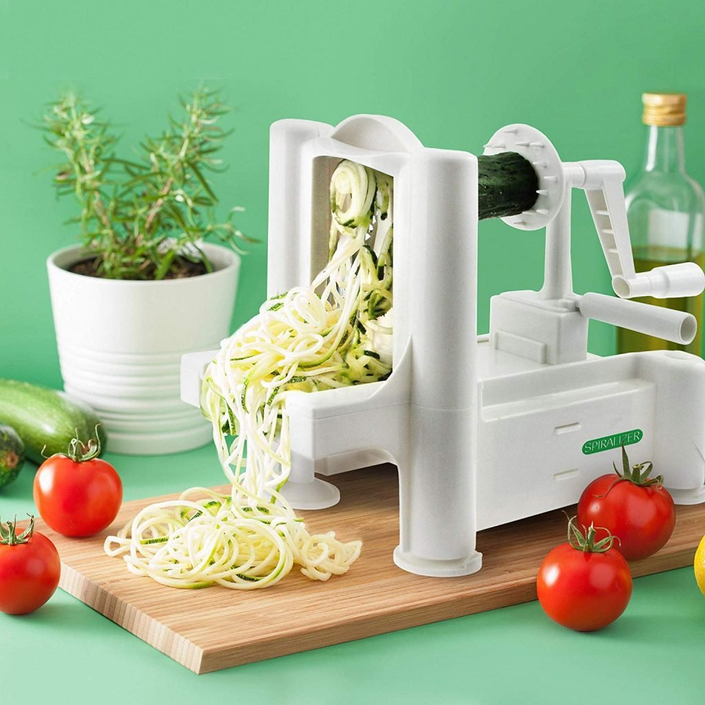 Spiralizer 5-Blade Vegetable Slicer on Amazon