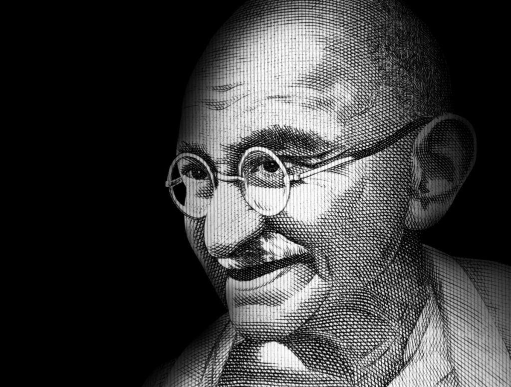 return to india Mahatma Gandhi