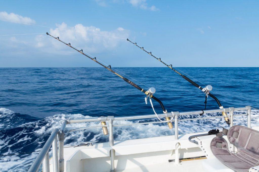 fishing deep sea shore river