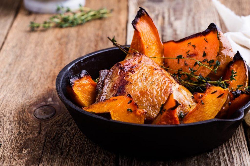 chicken thighs butternut squash recipe