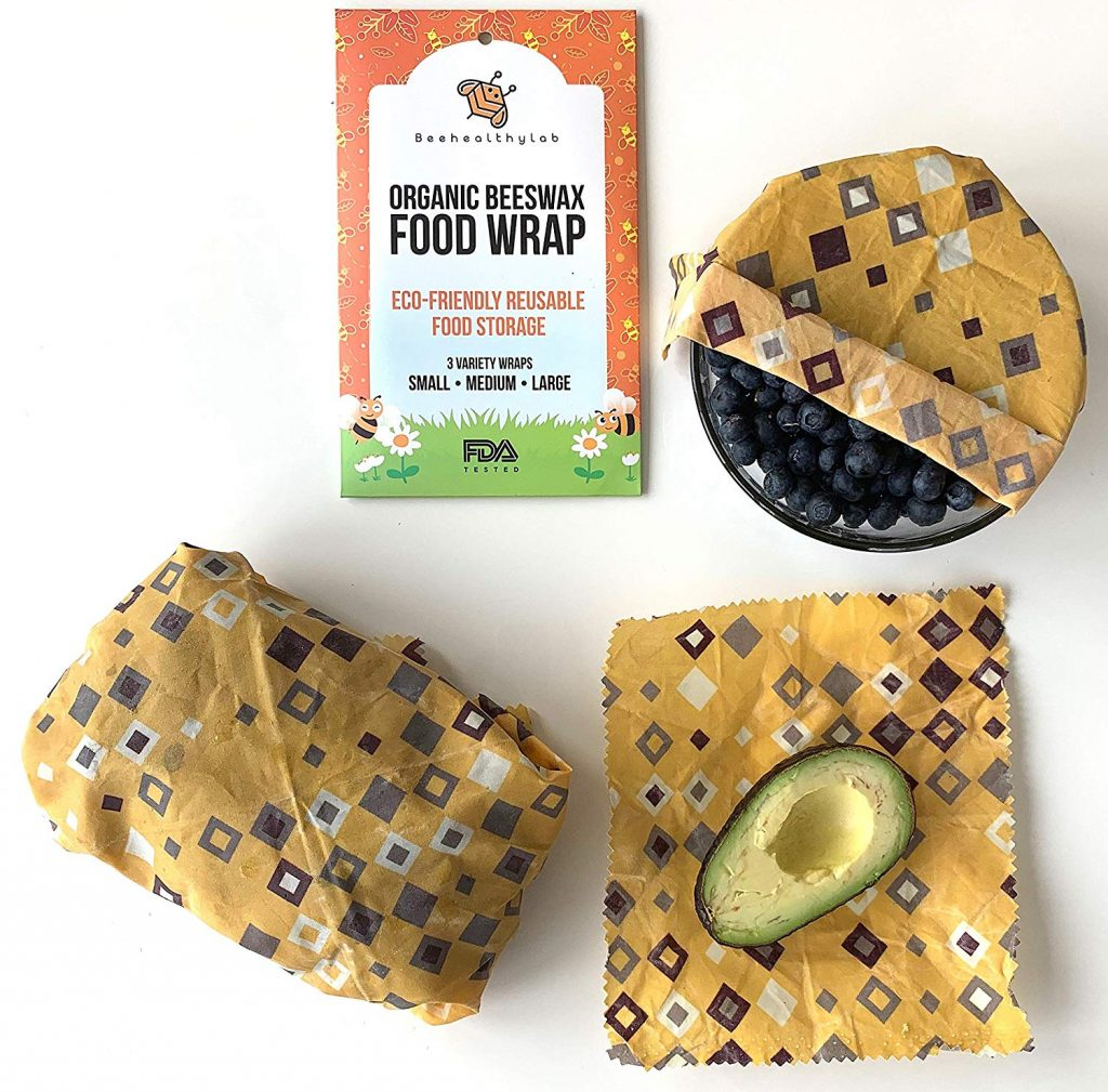 organic beeswax food wrapper