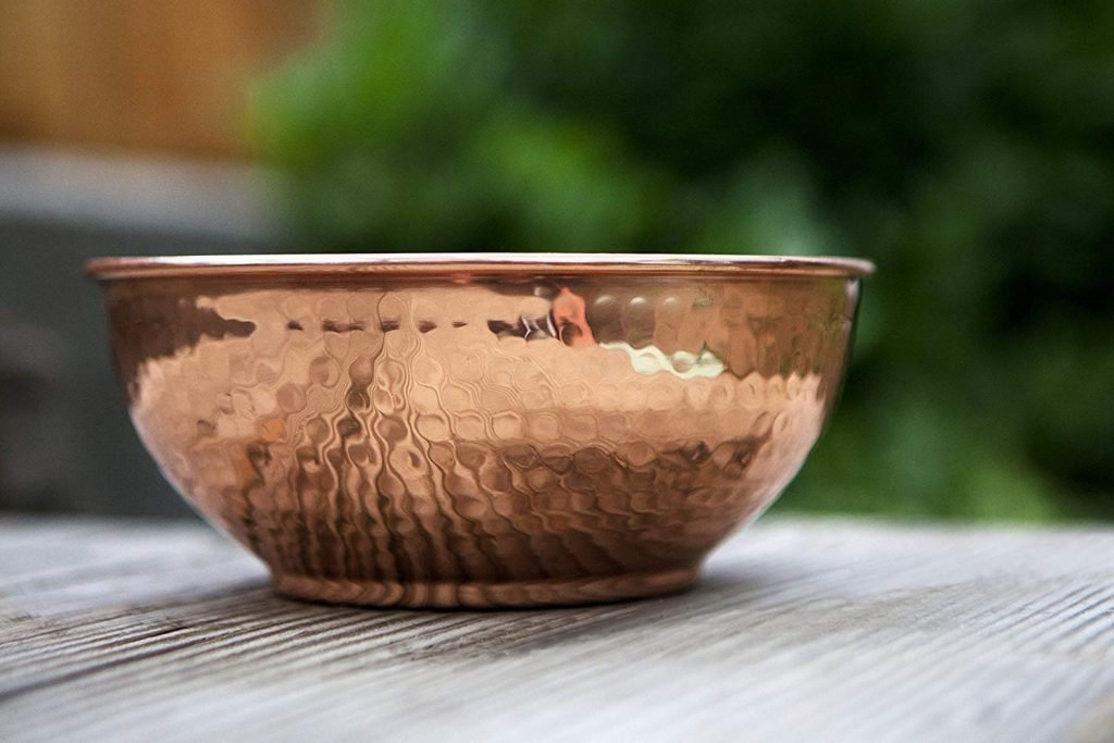 Copper Mixing Bowl on Amazon
