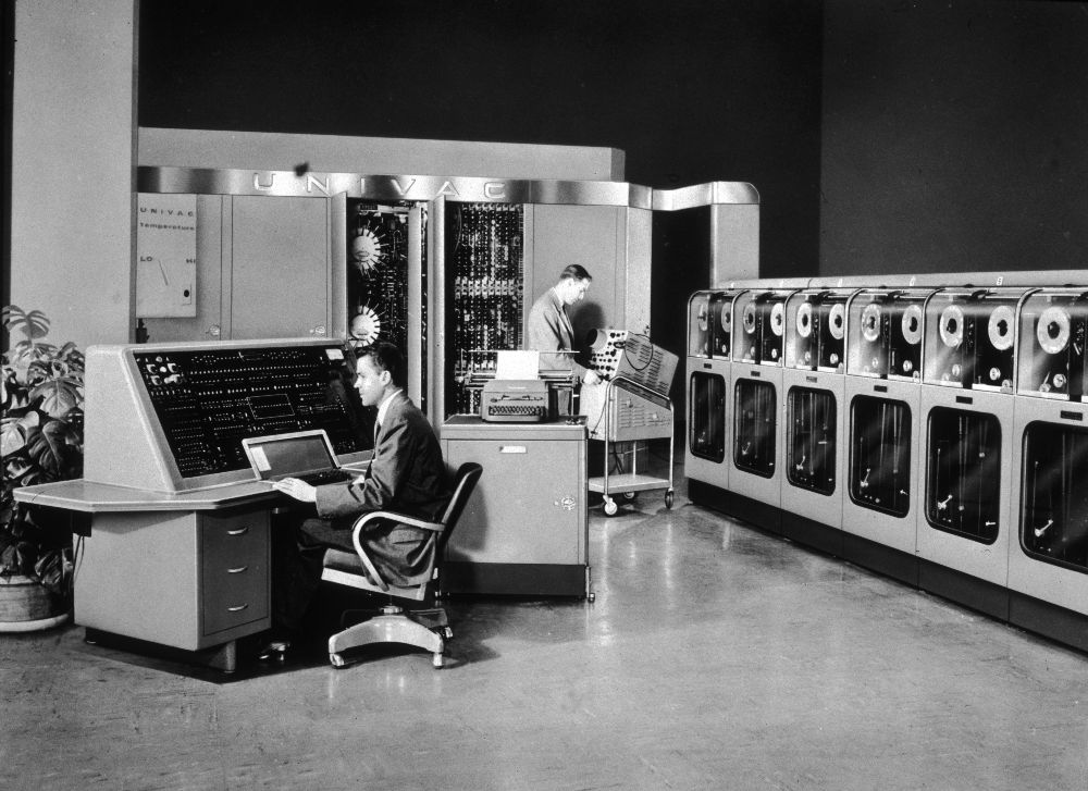 commercially produced first computer