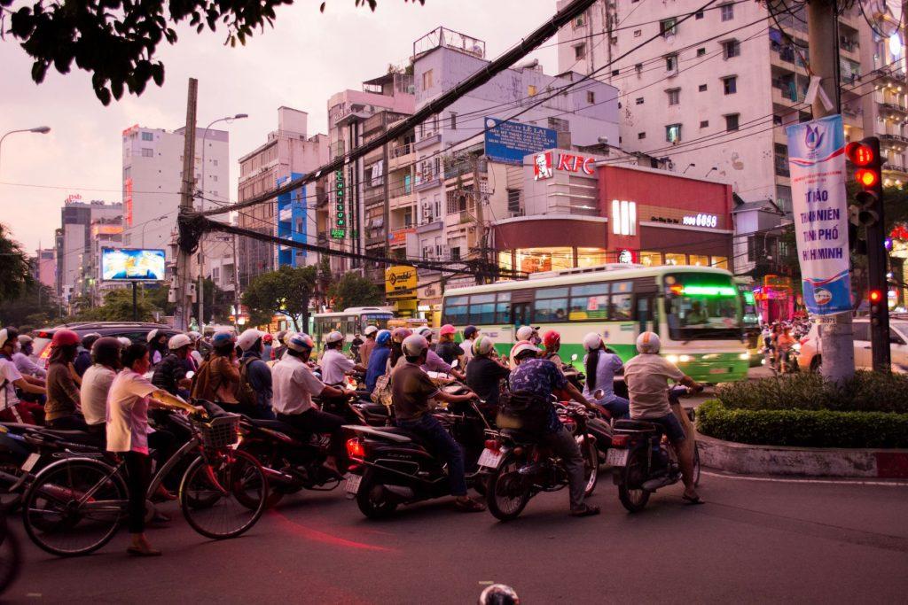 Ho Chi Minh City bike