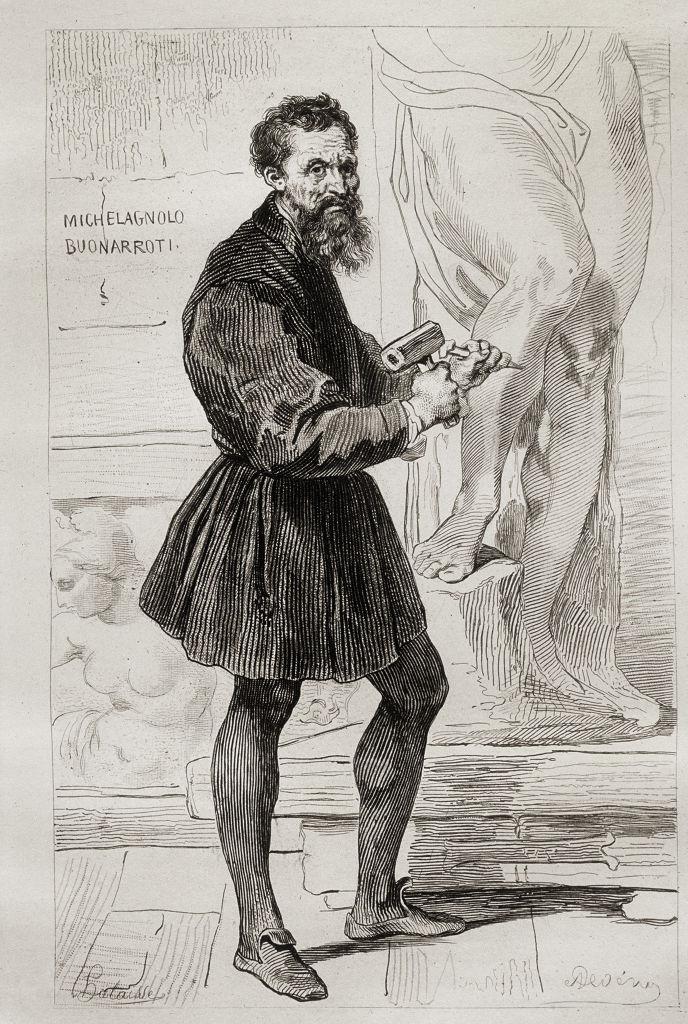 renaissance man Michelangelo Buonarroti