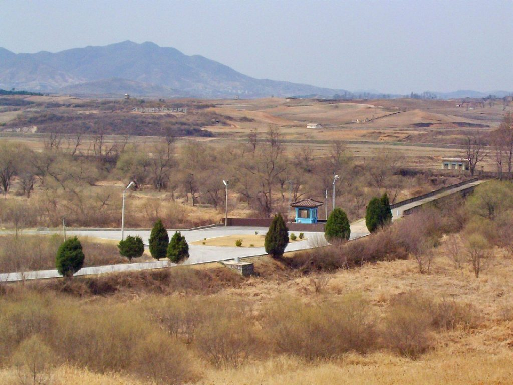 North, South Korea DMZ Bridge of No Return