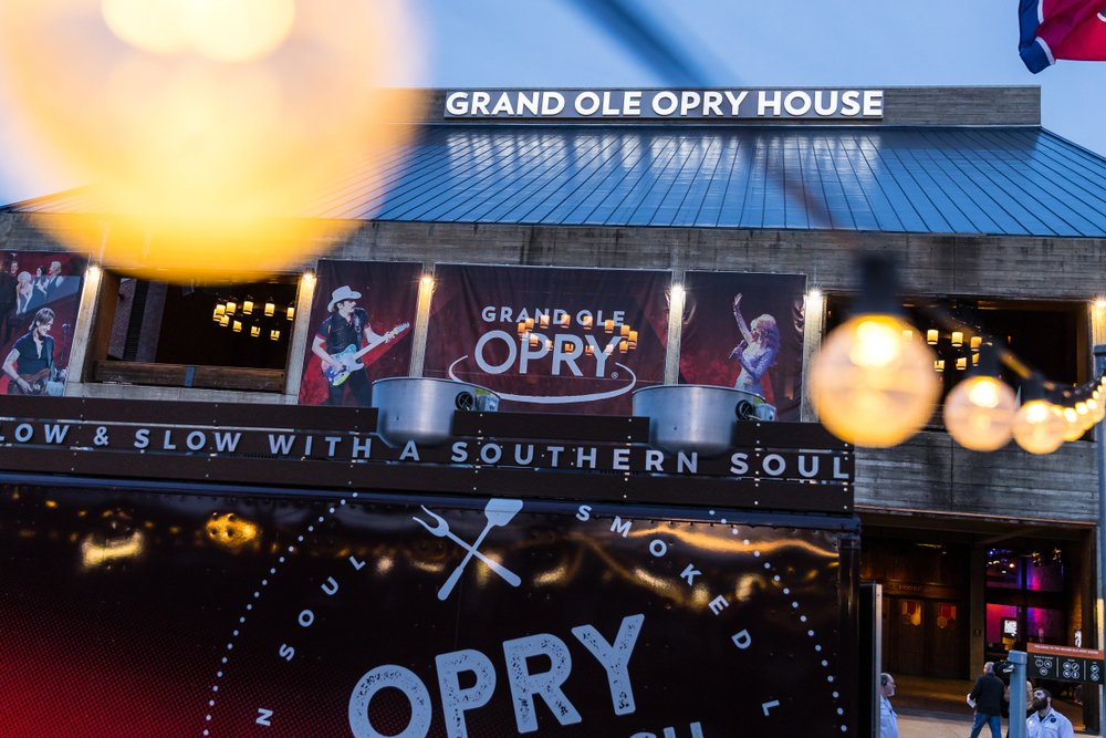 The Grand Ole Opry is one of the most famous music venues since being created in 1925