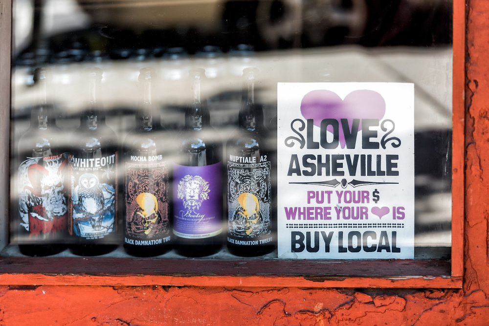 Support local Asheville stores