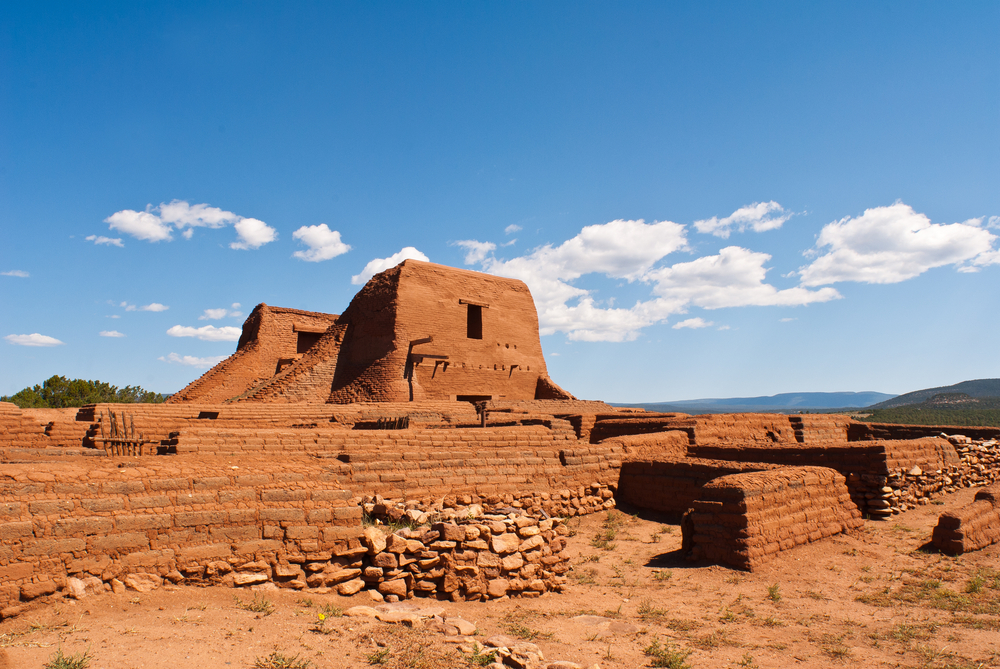 Pecos National Historic Park near Santa Fe, New Mexico