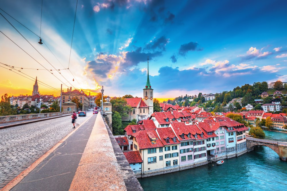 Old Town of Bern, capital of Switzerland