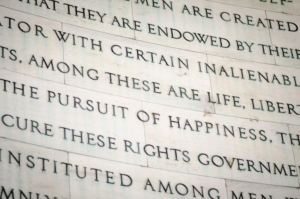 Declaration of Independence declaration