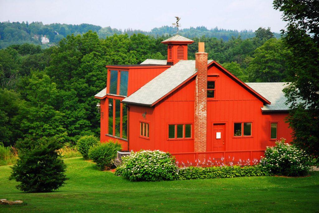 Norman Rockwell's Studio is nestled in the Berkshire Mountains of Massachusetts