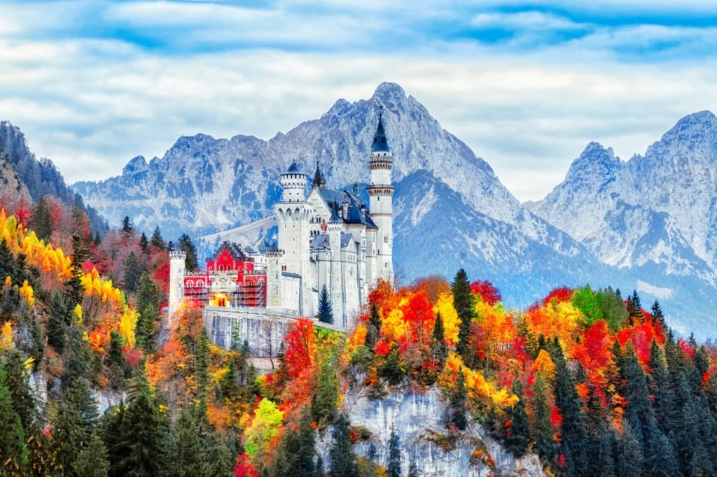 mountain castle bavaria