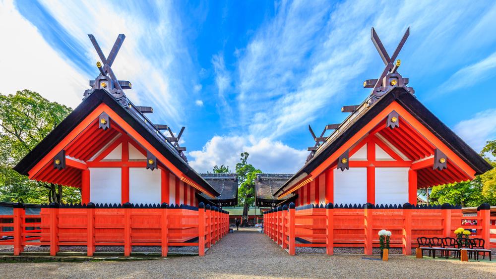Shrine in Osaka