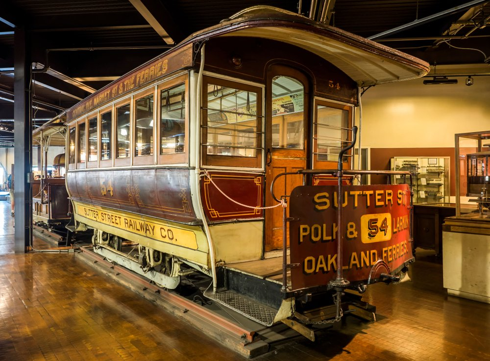 cable cars models historical photos