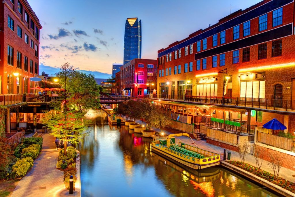 Bricktown Oklahoma City