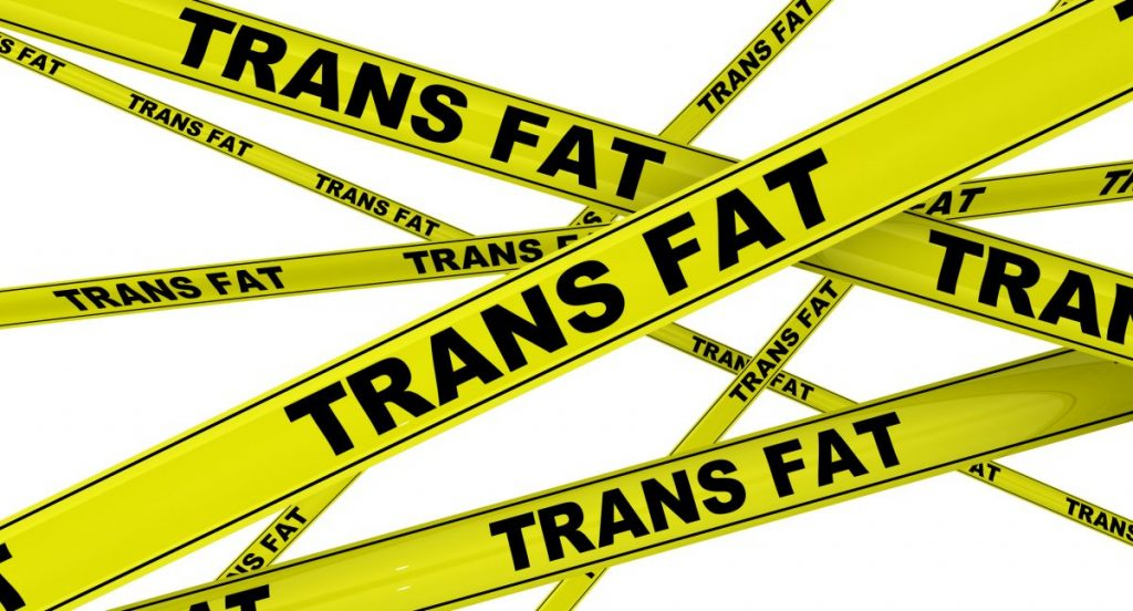 trans fat warning tapes