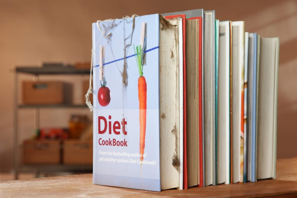 cookbooks recipe cards storage