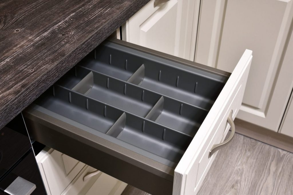 silverware utensils compartment organizer