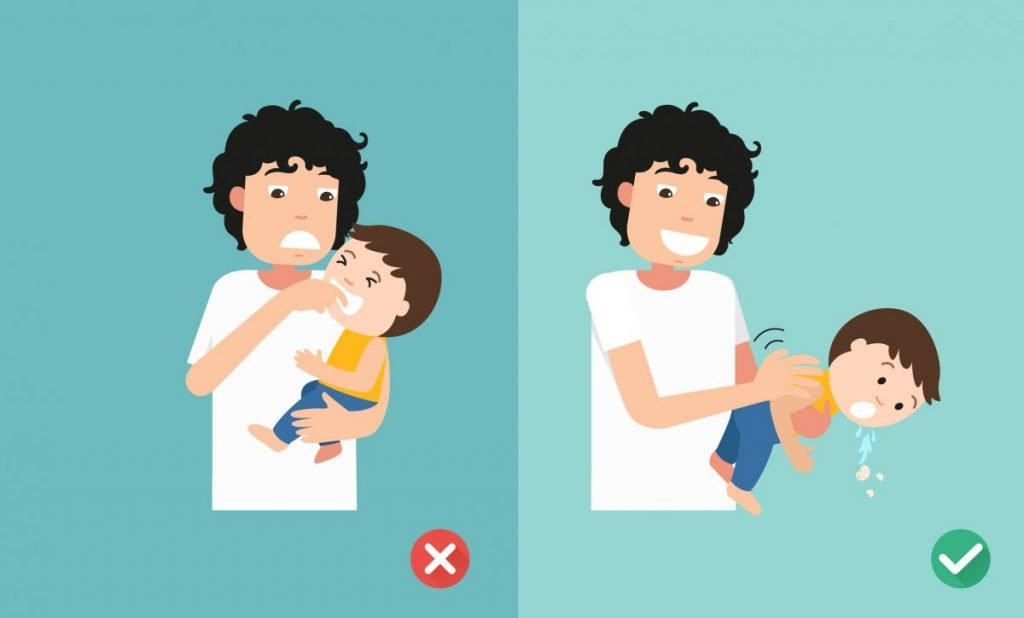 Choking Remove Object Myth Danger