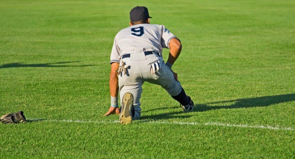 Charley horse and baseball