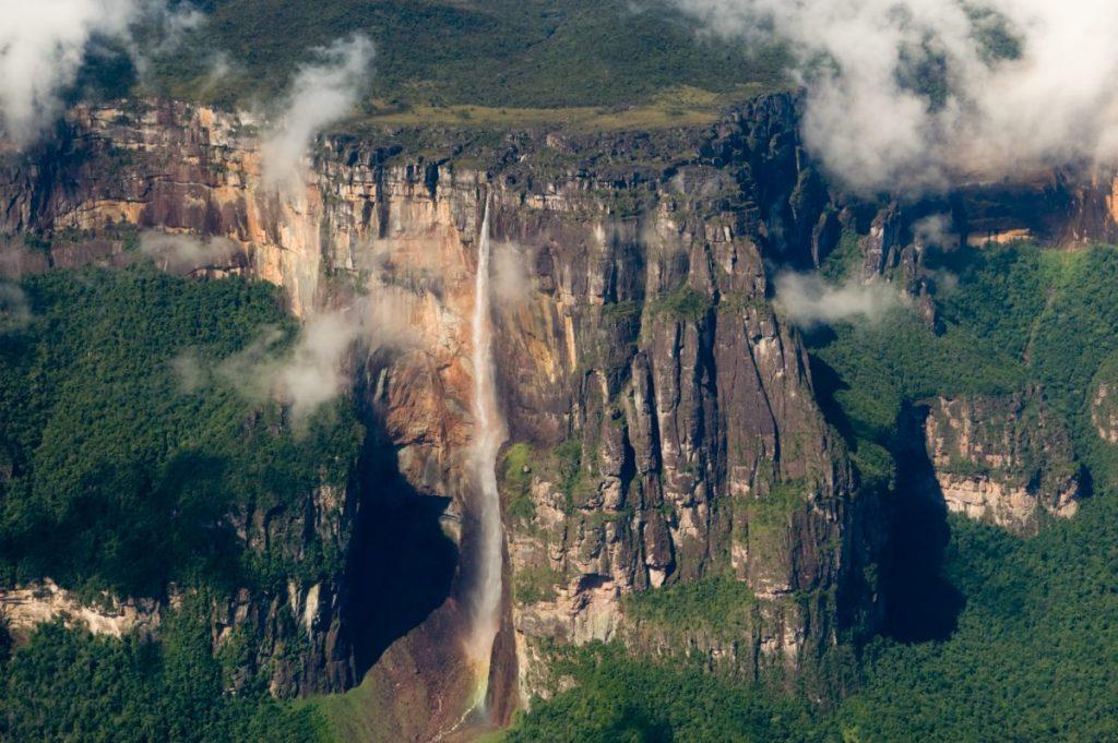 angel falls tallest waterfall venezuela