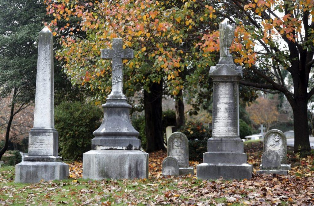 Hollywood cemetery Virginia