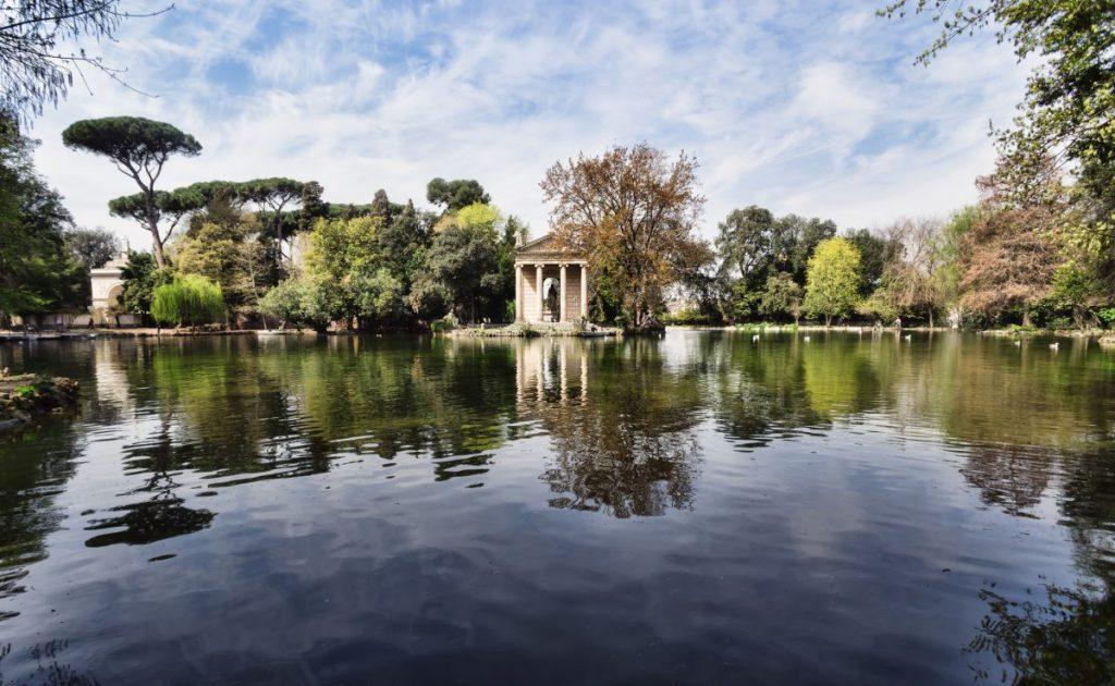 gardens villa borghese
