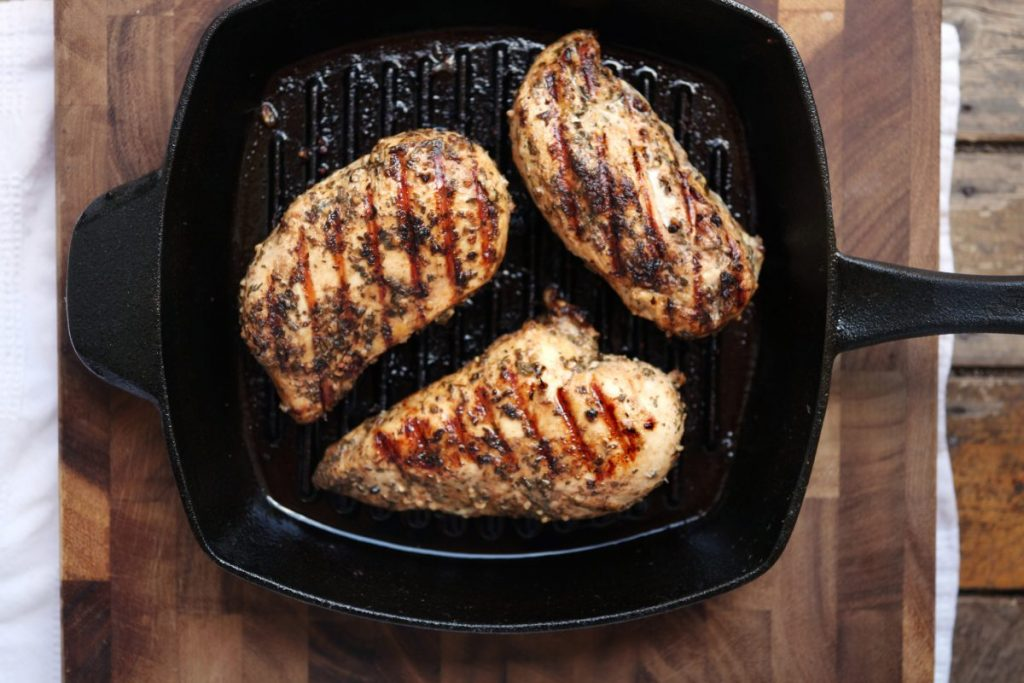 grilled chicken breast slow cooker