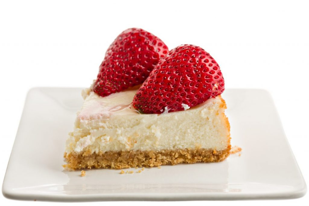 strawberry keto cheesecake