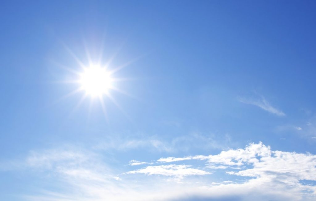 sun color white science