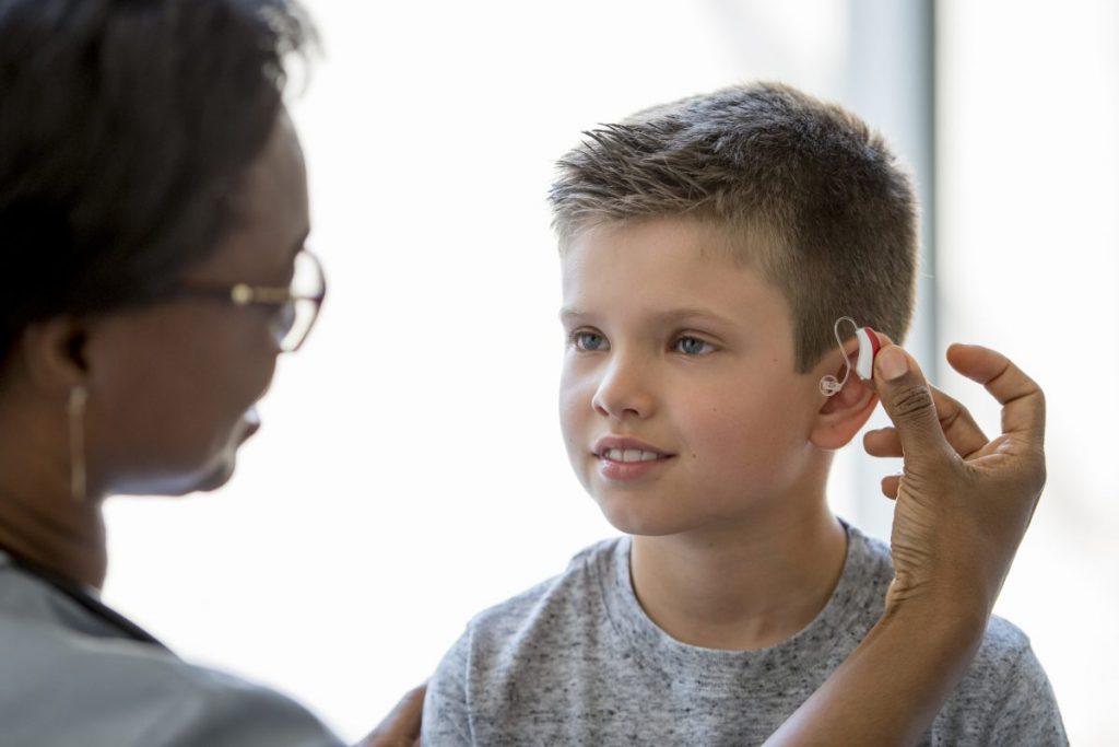 Hearing loss and hearing aids