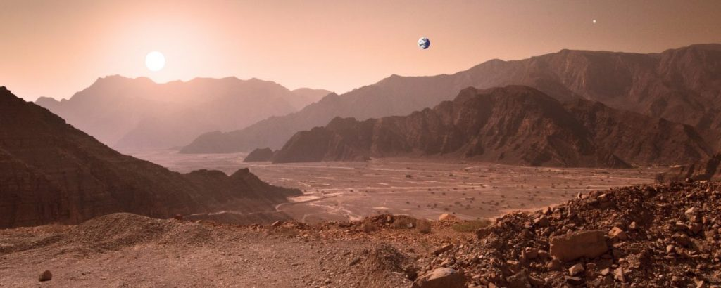 sun color from other planets