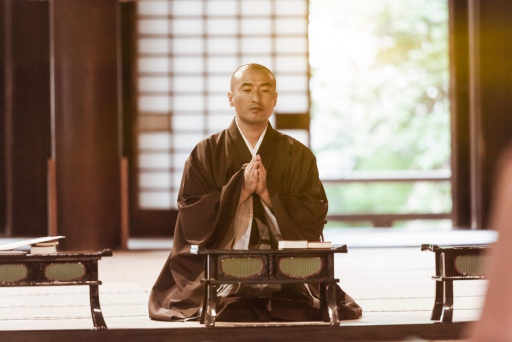 Buddhist monk China